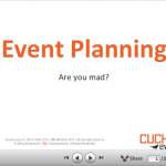Event Planning Presentation to BICS 2013 (slides included)