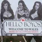 New Ad For The Valleys In Homage to Classic Wonderbra Ad